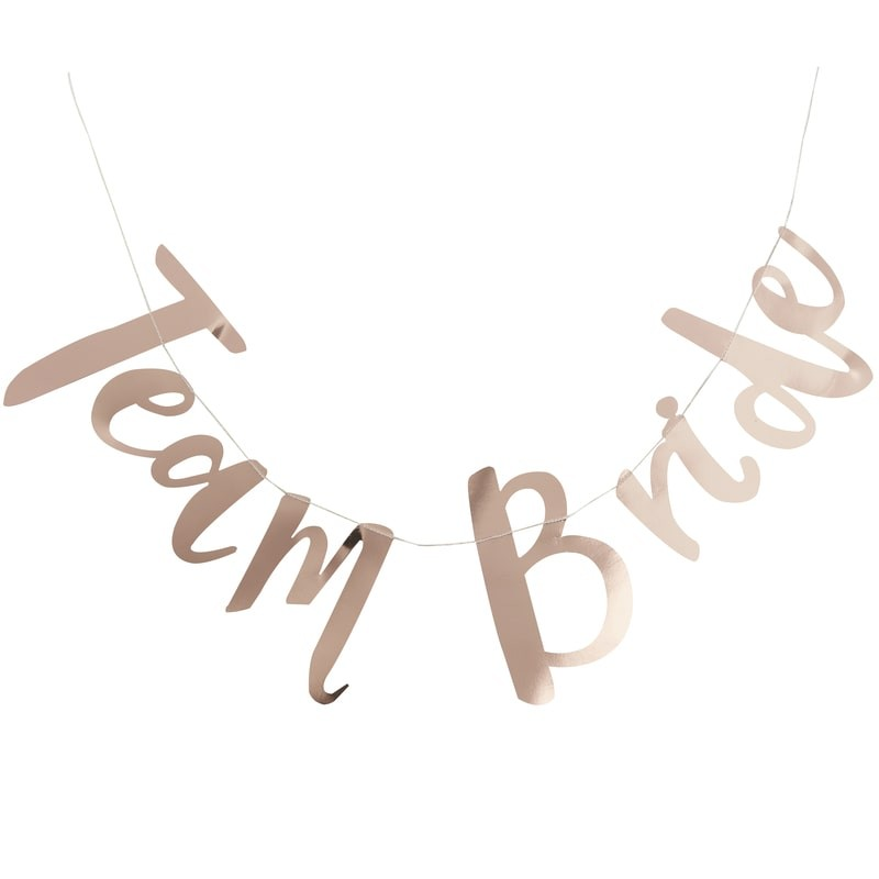 Girlande Team Bride
