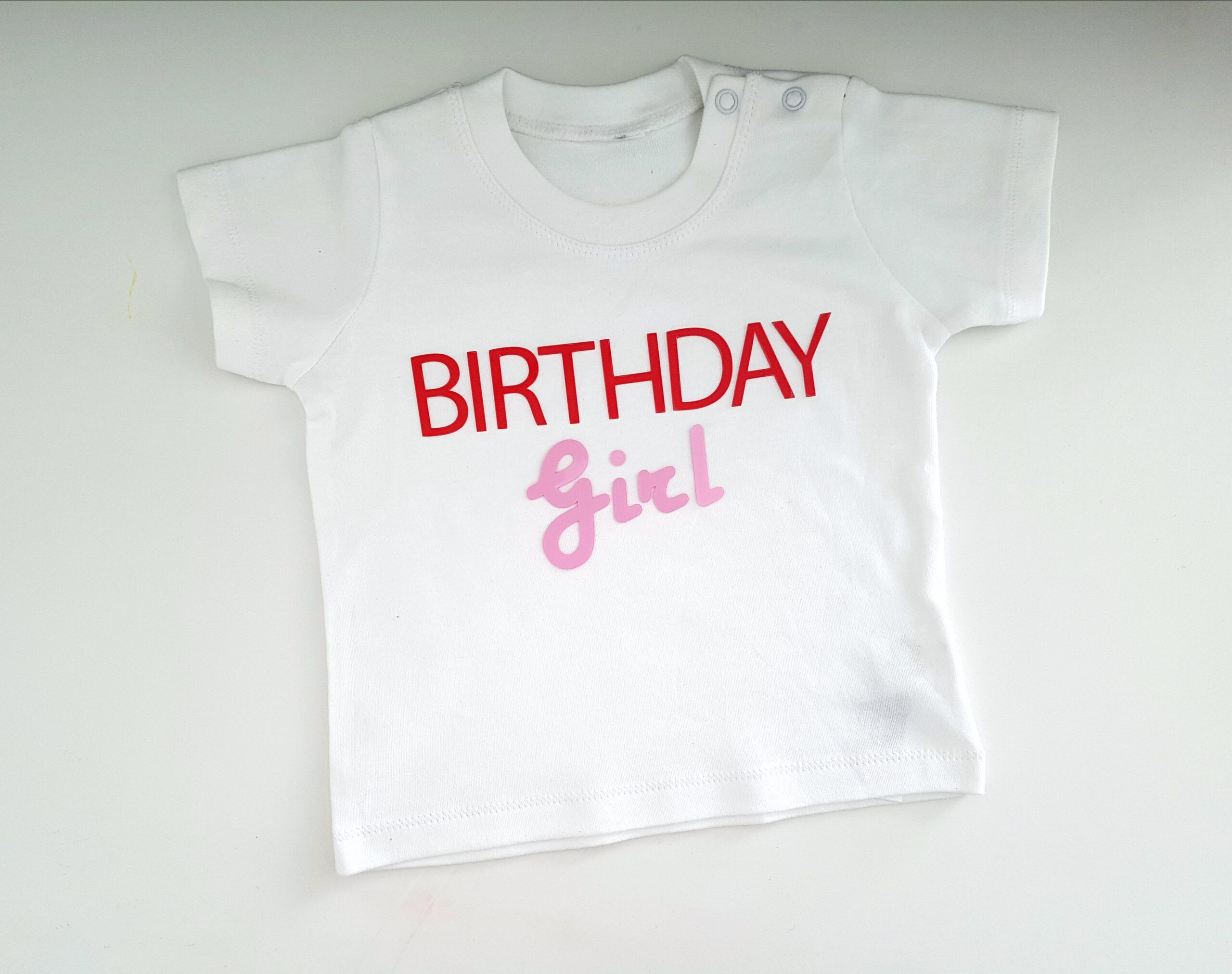 T-SHIRT BIRTHDAY GIRL