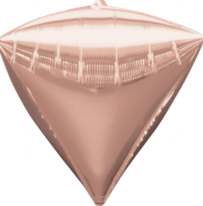Folienballon Diamant Rosé Gold