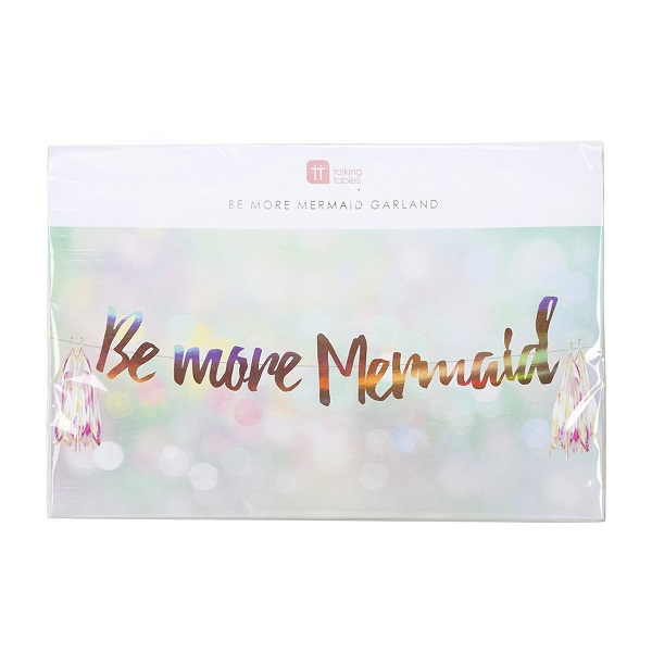 Girlande BE MORE MERMAID